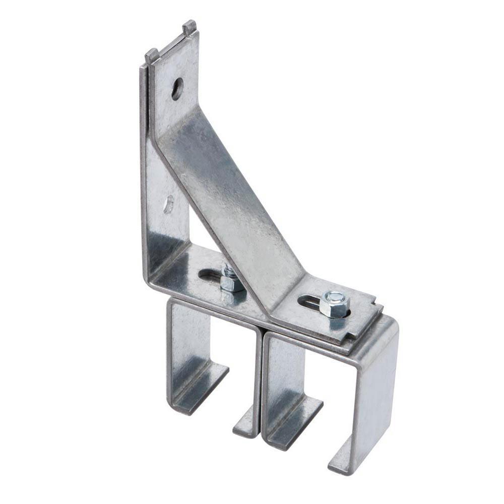 Galvanized Double Box Rail Bracket