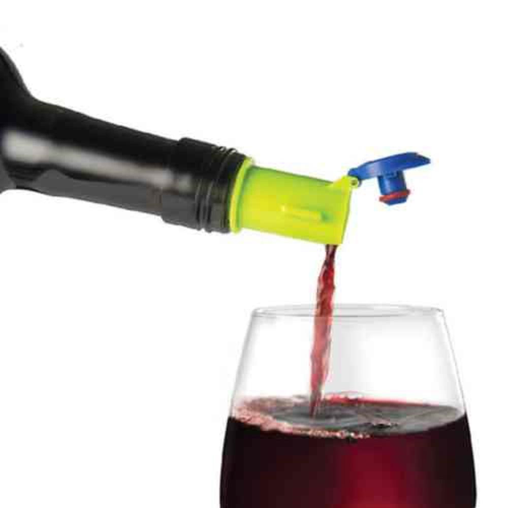 BPA Free 5-in-1 Blue Wine Gizmo