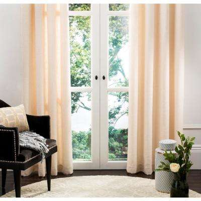 Lamia 52 in. W x 96 in. L Window Panel in Natural