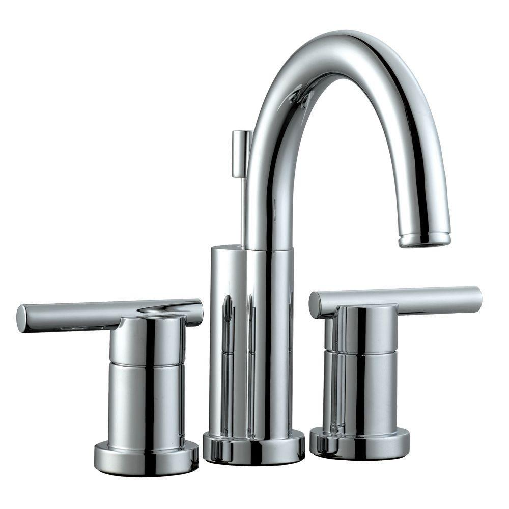 Design House Geneva 4 In Centerset 2 Handle Bathroom Faucet In