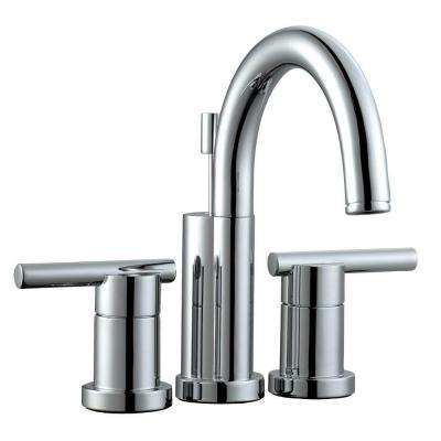 Geneva 4 in. Centerset 2-Handle Bathroom Faucet in Polished Chrome