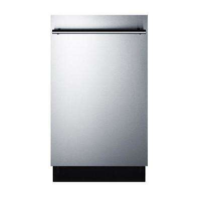 18 In Top Control Dishwasher Stainless Steel