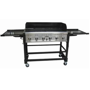 RiverGrille Chuck Wagon 6-Burner Event Propane Gas Grill by RiverGrille