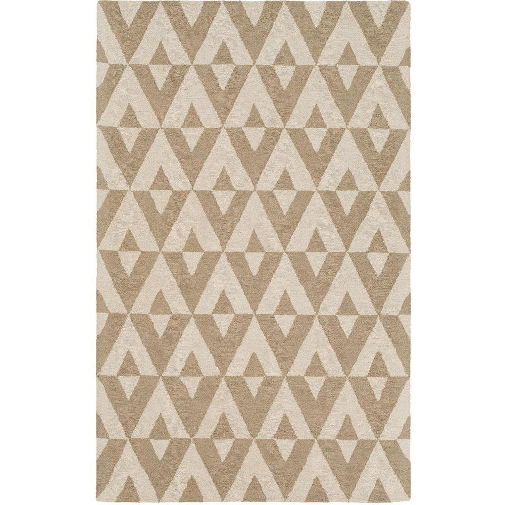 Impression Andie Off White 4 ft. x 6 ft. Indoor Area
