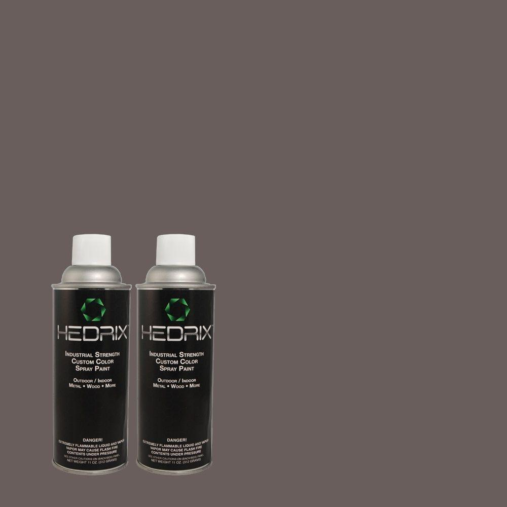 Hedrix 11 oz. Match of MQ5-6 Ball Gown Flat Custom Spray Paint (2-Pack)