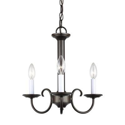 Holman 3-Light Heirloom Bronze Chandelier