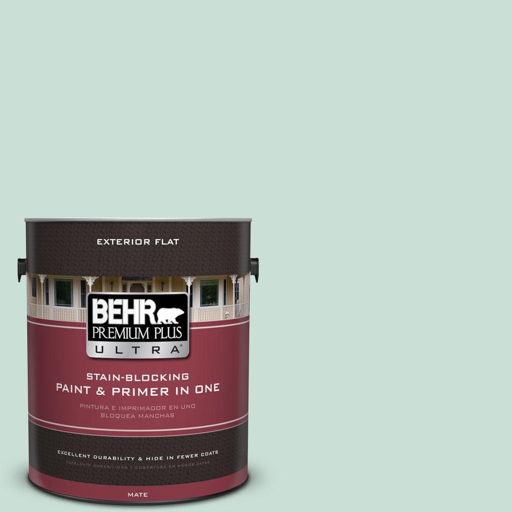 BEHR Premium Plus Ultra 1-gal. #M430-2 Ice Rink Flat Exterior Paint