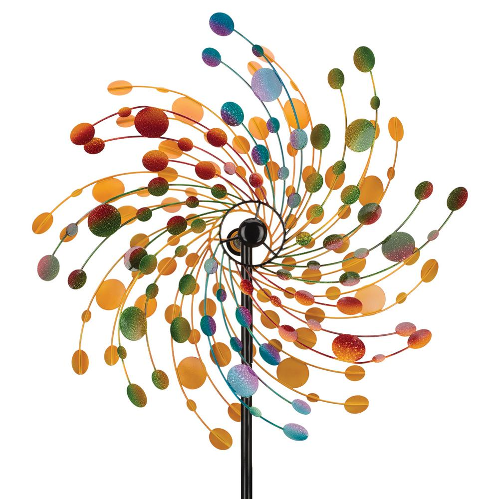Regal 32 in. Rotating Kinetic Stake  - Confetti