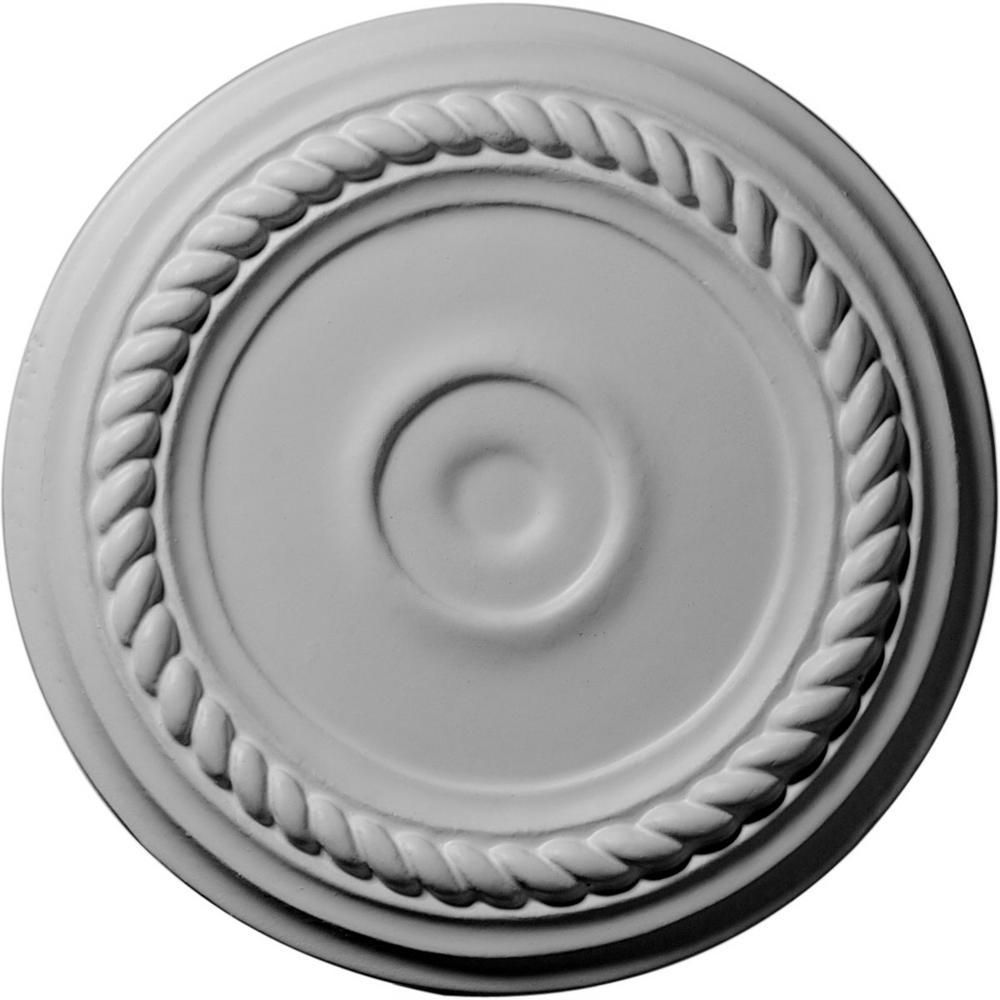 Ekena Millwork 7 7 8 In O D Alexandria Ceiling Medallion Cm07al