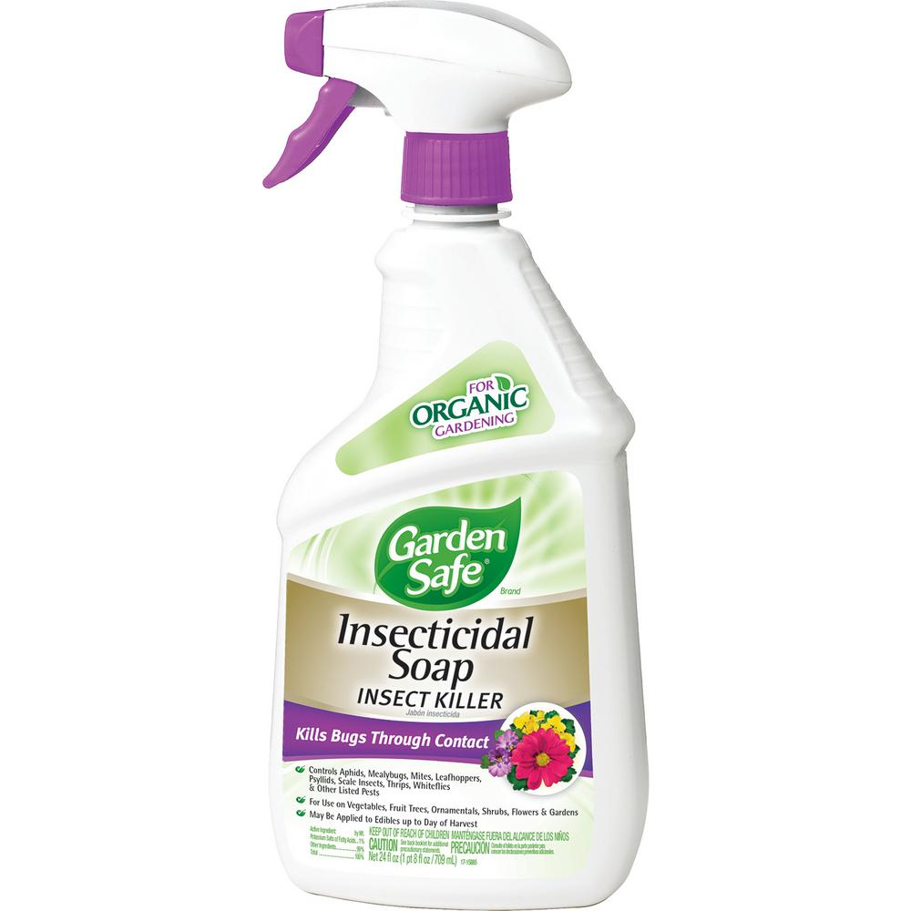 Garden Safe 24 fl. oz. Ready-to-Use Insecticidal Soap