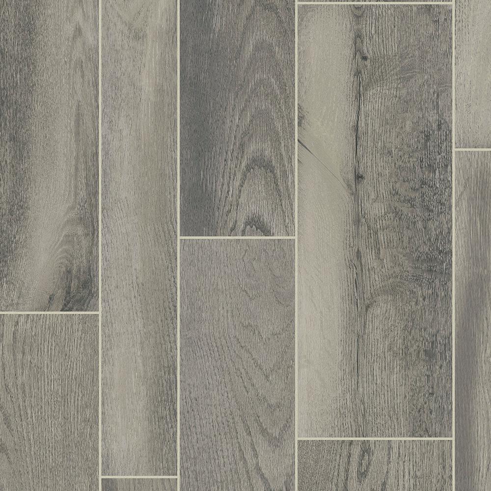 Take Home Sample -Wolf Run Residential Vinyl Sheet Flooring - 6 in. x 9 in.