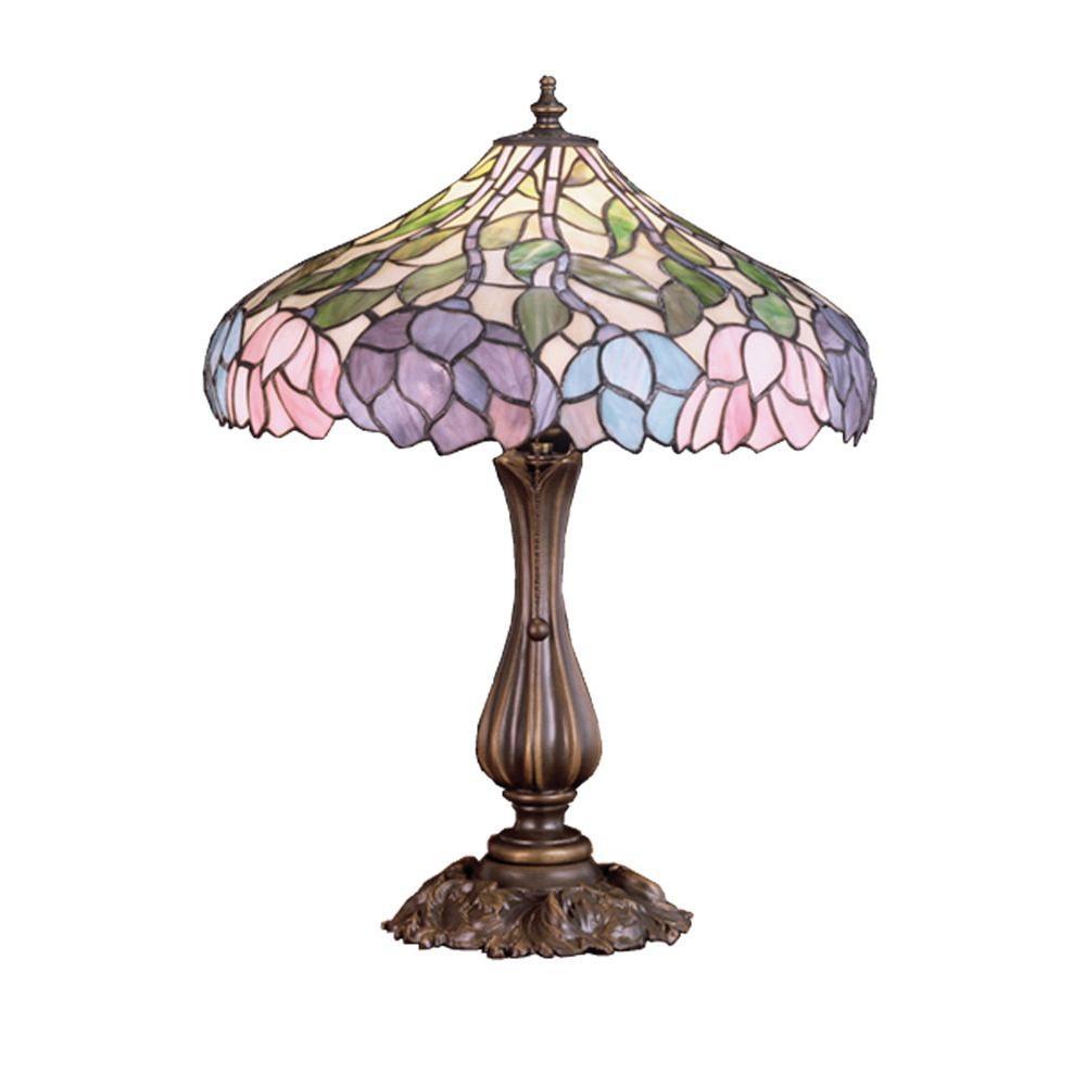 Illumine 1 Light Wisteria Table Lamp
