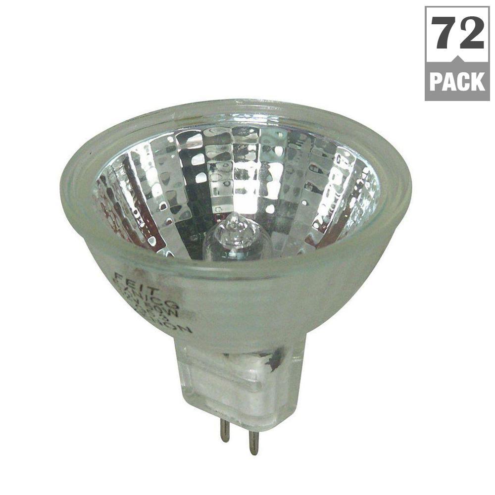 50-Watt Warm White (3000K) MR16 GU5.3 Bi-Pin Dimmable Halogen Light Bulb Maintenance Pack (72-Pack)