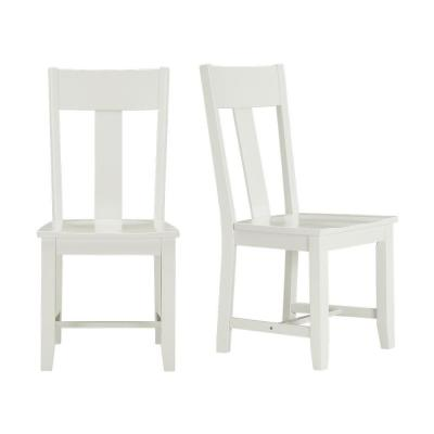 StyleWell Ivory Wood Dining Chair (Set of 2) (19.97 in. W x 37.44 in. H)