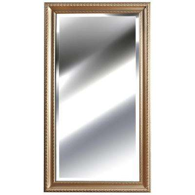 53.5 in. x 29.8 in. Silver Embossed Framed Mirror