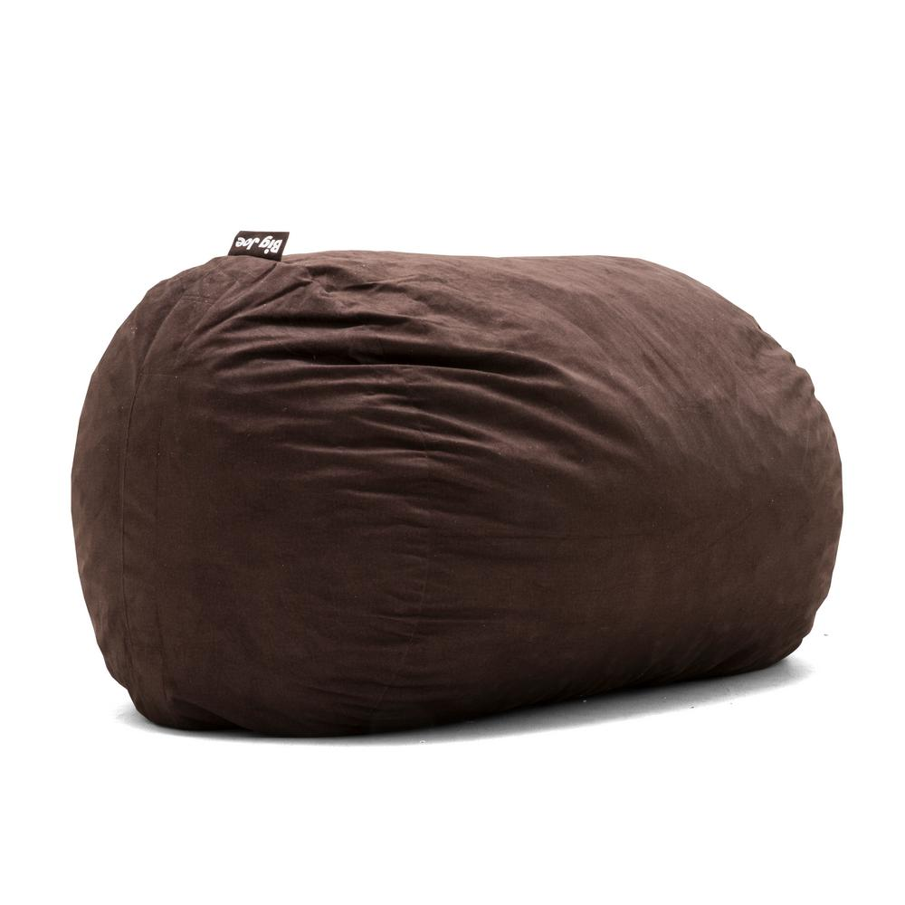 Genial Big Joe XL FUF Shredded Ahhsome Foam Cocoa Lexon Bean Bag