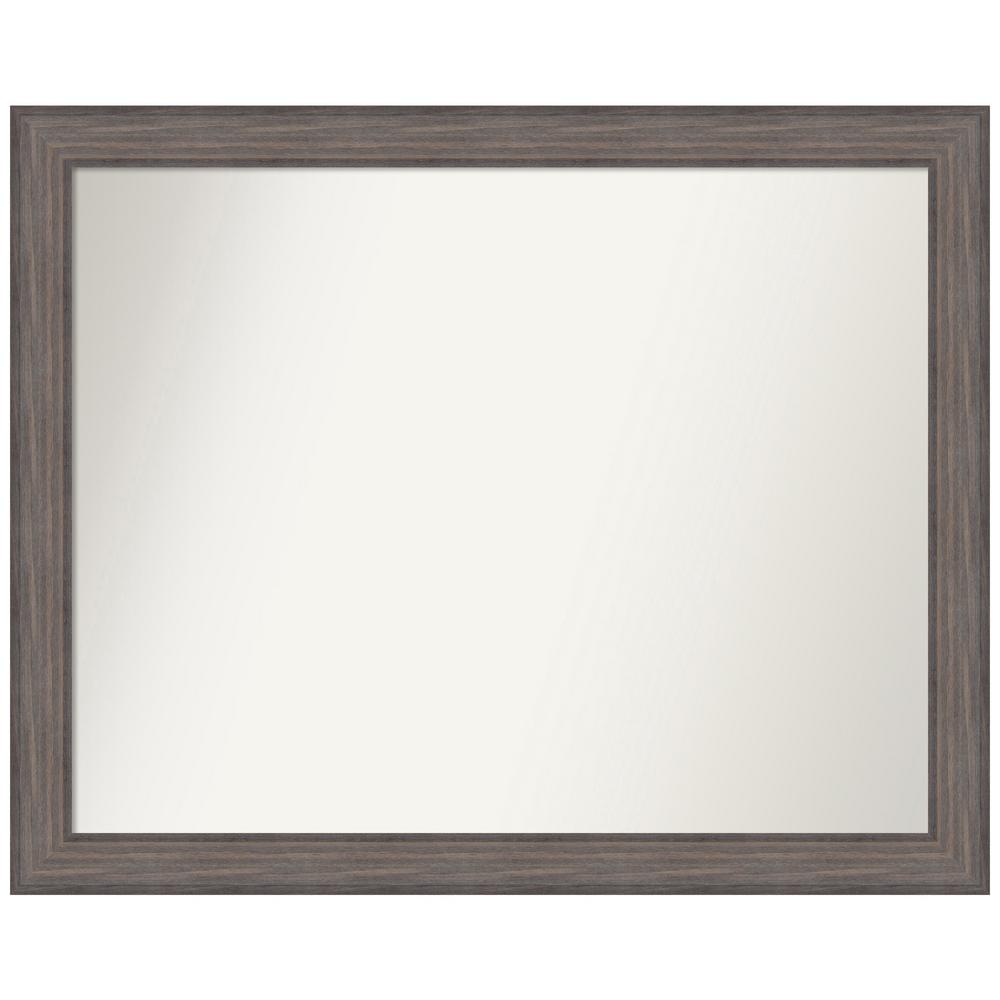 Amanti Art Choose Your Custom Size 46.25 in. x 37.25 in. Country Barnwood Decorative Wall Mirror was $575.66 now $299.91 (48.0% off)