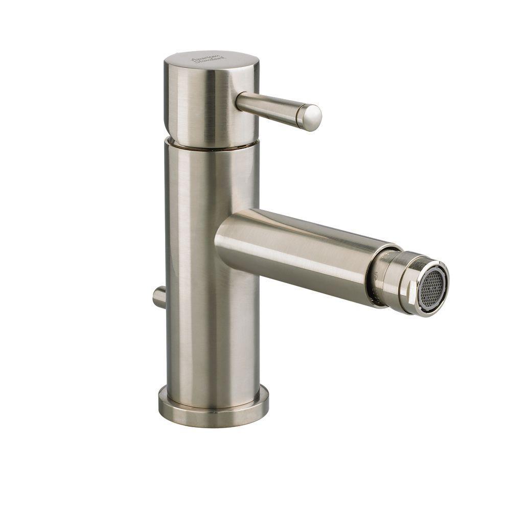 Serin Single Handle Bidet Faucet in Brushed Nickel