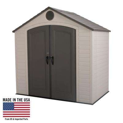 8 ft. x 5 ft. Storage Shed
