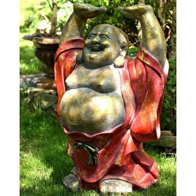 43 in. Tall Magnesium Happy Buddha Harold