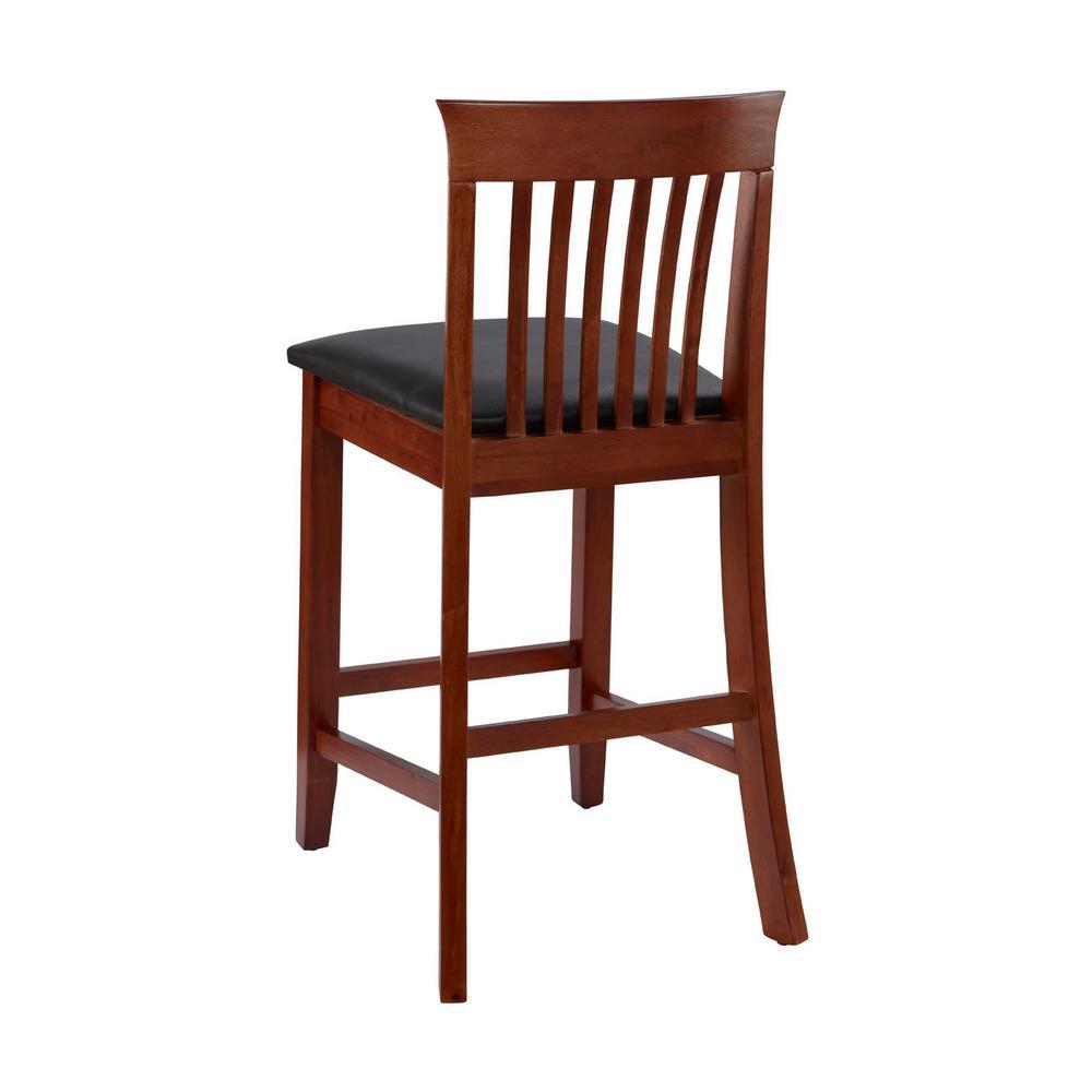 Stupendous Linon Home Decor Triena Craftsman Counter Stool 01857Dkchy Frankydiablos Diy Chair Ideas Frankydiabloscom