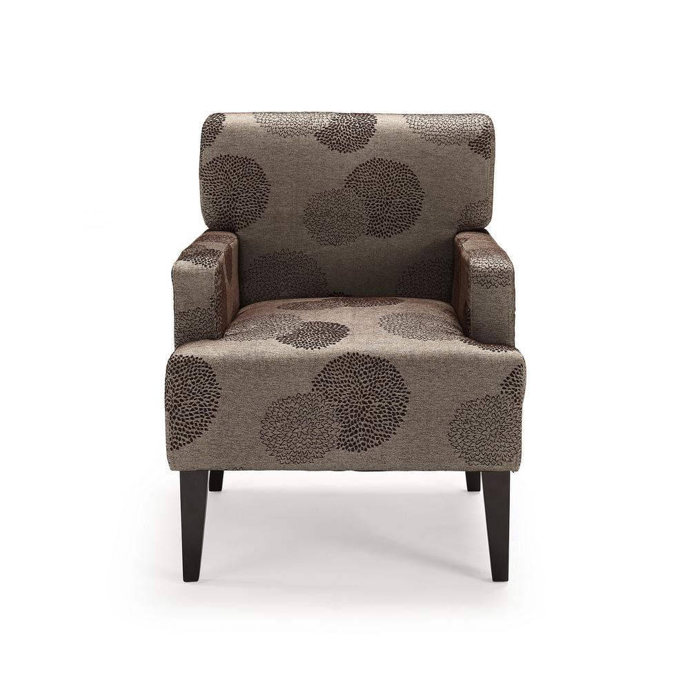Charmant Tux Bark Sunflower Accent Chair