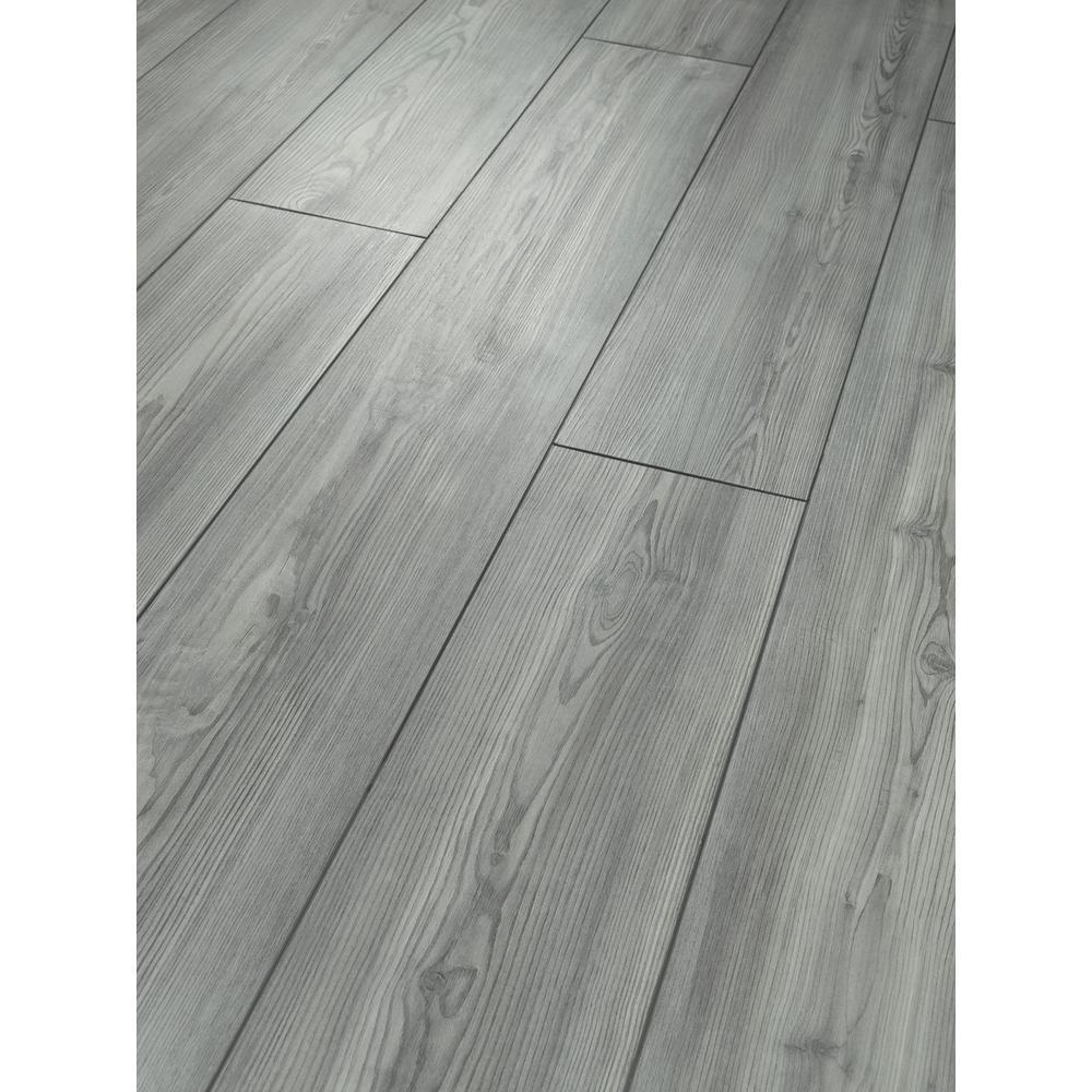 Sydney Fog 7 in. x 48 in. Resilient Vinyl Plank Flooring (18.91 sq. ft. / case)