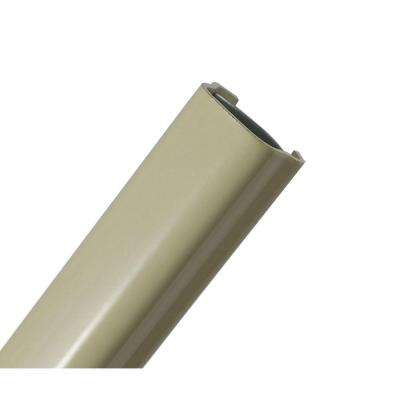 500 Series 5 ft. Metallic Raceway - Ivory (10 Pack)