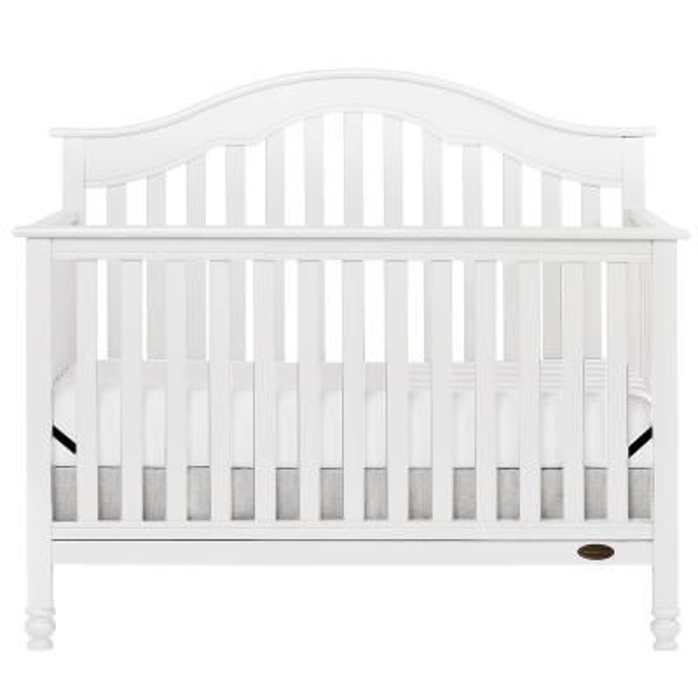 Charlotte White 5-In-1 Convertible Crib