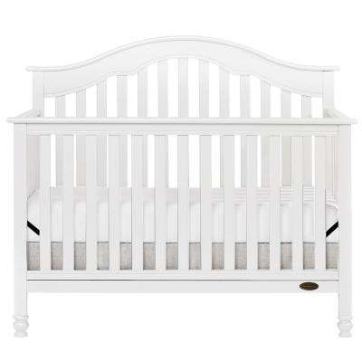 Charlotte White 5-In-1 Convertible Crib