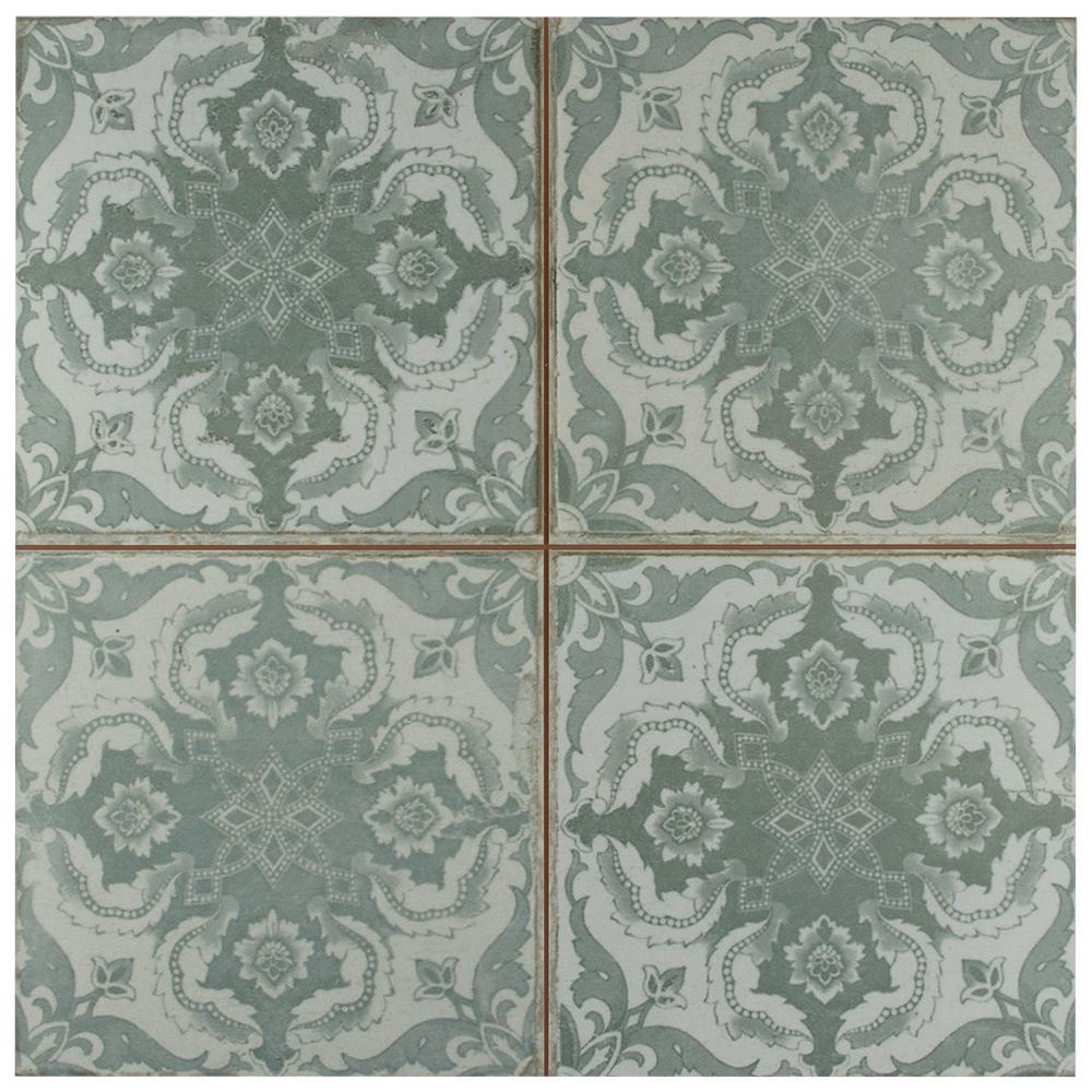 Kings Seagate Encaustic 17-5/8 in. x 17-5/8 in. Ceramic Floor and Wall Tile (11.1 sq. ft. / case)