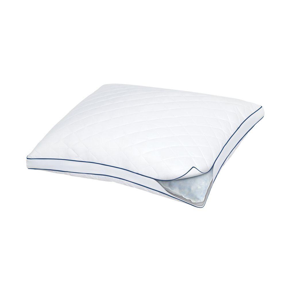 Always Supportive Gel Memory Foam and Fiber Fill Standard Pillow
