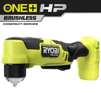 "RYOBI ONE+ HP 18V Brushless Cordless Compact 3/8"" Right Angle Drill (Tool Only)"
