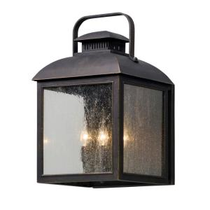 Troy Lighting Chamberlain 4-Light Vintage Bronze Outdoor Wall Mount Sconce by Troy Lighting