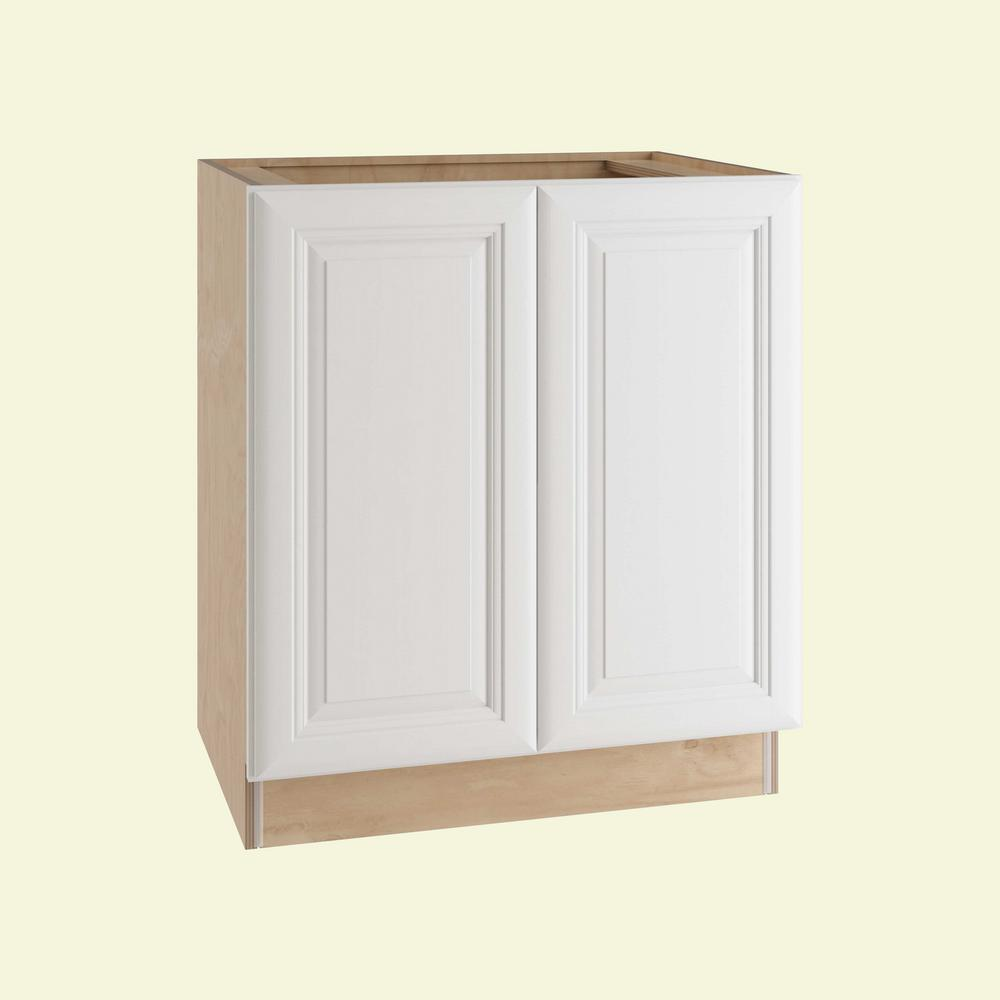 Brookfield Assembled 33x34.5x24 in. Double Door Base Kitchen Cabinet in Pacific