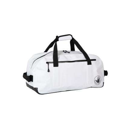 Geste 22 in. White Waterproof Carry-On Duffel