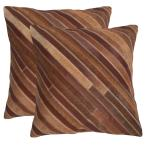 Cherilyn Cowhide Pillow (2-Pack)