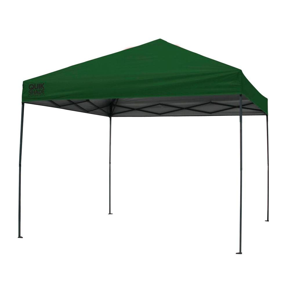 Expedition 100 Team Colors 10 ft. x 10 ft. Green Instant
