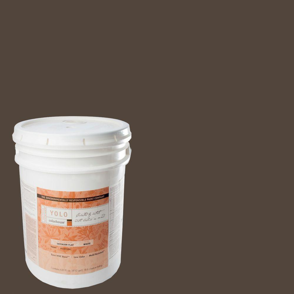 YOLO Colorhouse 5-gal. Nourish .05 Flat Interior Paint-DISCONTINUED