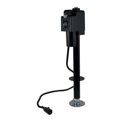 3500 Electric Tongue Jack with 7 Way Plug in Black