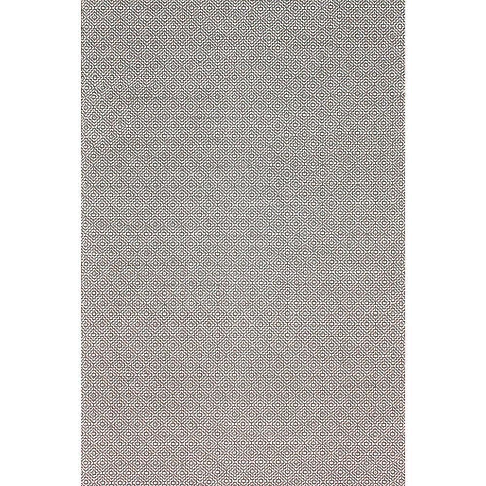 Famous nuLOOM Diamond Cotton Check Grey 5 ft. x 8 ft. Area Rug-HMCO6C-508  MV22