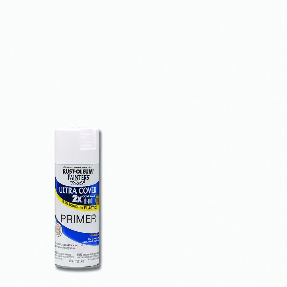 Rust Oleum Painters Touch 2x 12 Oz Gloss White Primer General
