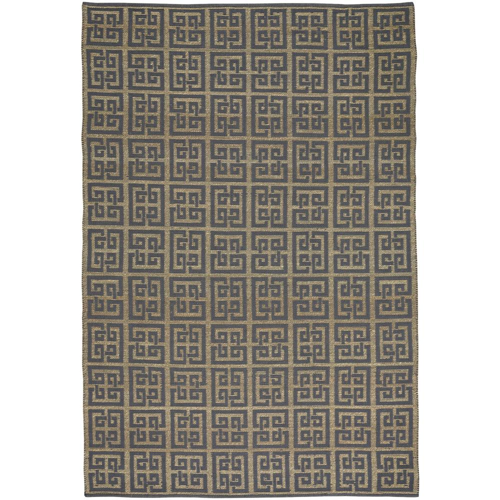 Williamsburg Chateau Grey Blue 5 ft. x 8 ft. Area Rug