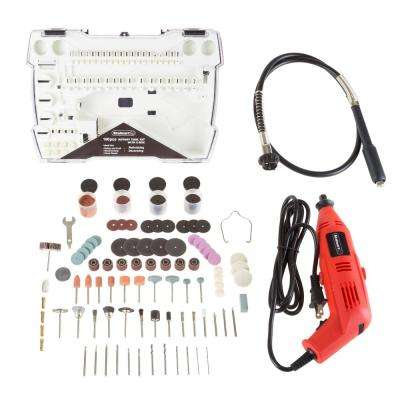 14.5 in. Corded Rotary Tool Kit (190-Piece)