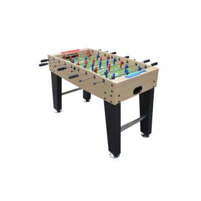 Metropolis 48 in. Foosball Table with Spring-Loaded Telescopic Safety Rods in Maple