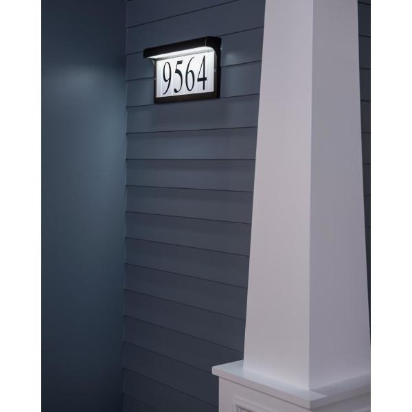 Light Collection White Plastic Number