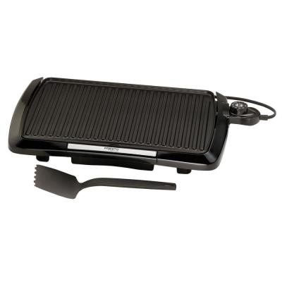 160 sq. in. Black Alumnium Cool Touch Indoor Grill