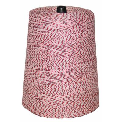 4-Ply 9600 ft. 2 lb. Twine Cone in Variegated Red and White