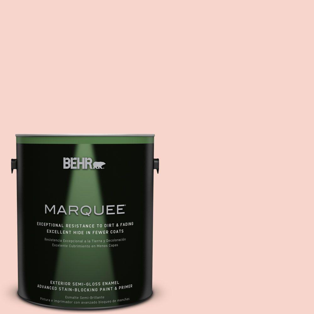 BEHR MARQUEE 1-gal. #P180-1 Deco Shell Semi-Gloss Enamel Exterior Paint
