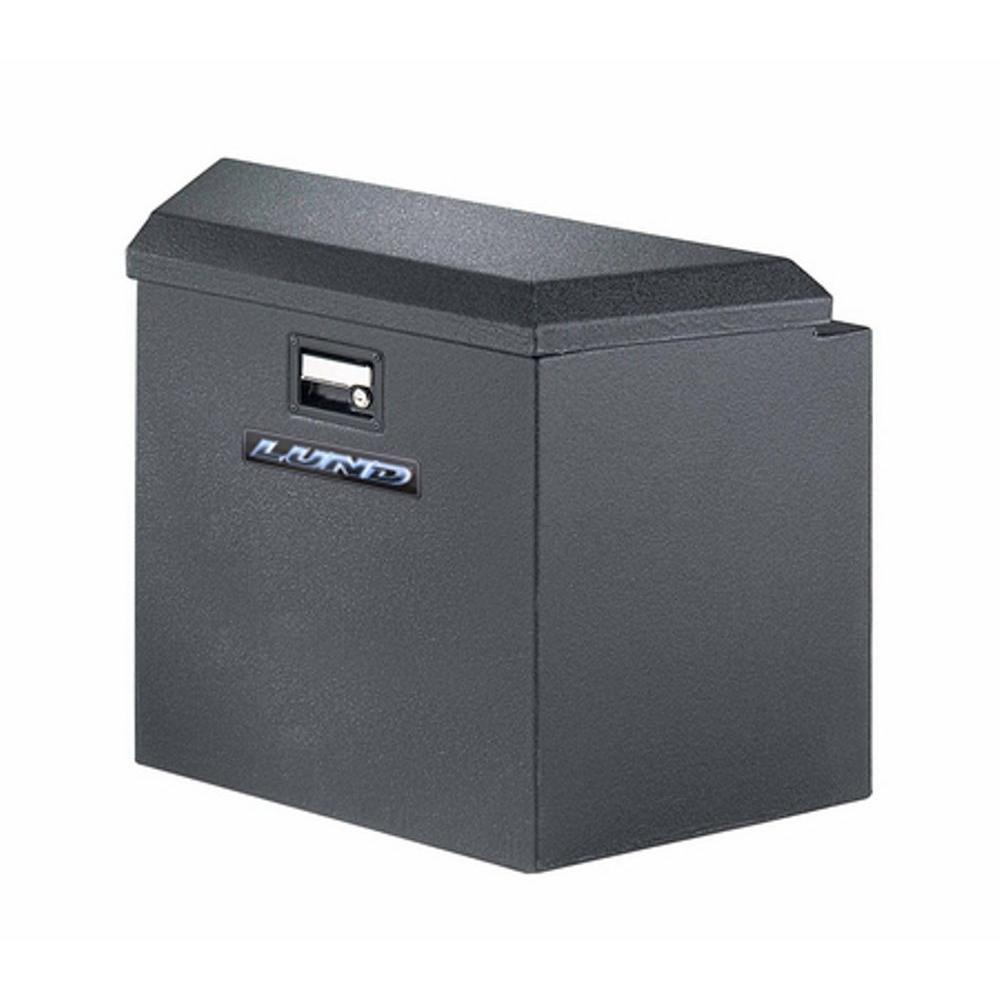34 Gloss Black Aluminum  Trailer Tongue Truck Tool Box